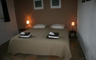 slaapkamer appartement Acuto