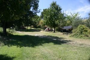 kamperen op I Magnoni