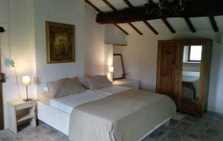 slaapkamer Huisje Catria